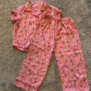 American girl pj set with slippers